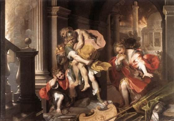 Federico Barocci: Aeneas' Flight from Troy