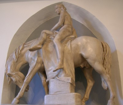 Lady Godiva statuette by William Behnes