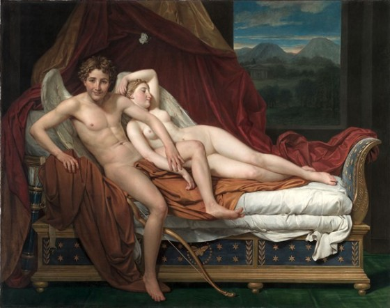 Jacques-Louis David: Cupid and Psyche