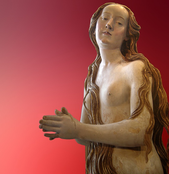 Penitent Magdalena athtributed to Gregor Erhart
