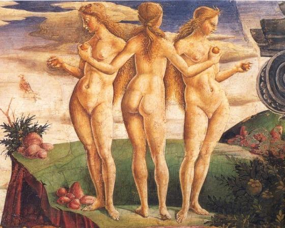 Francesco del Cossa: The Three Graces, c. 1470