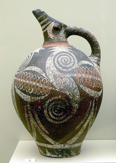 Kamares ware pitcher, 2000 BC
