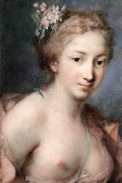 Rosalba Carriera: Flora