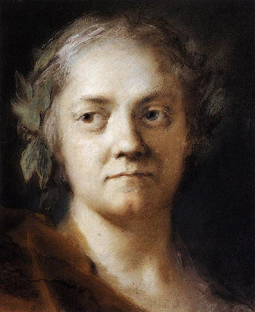 Rosalba Carriera: Self Portrait c. 1740