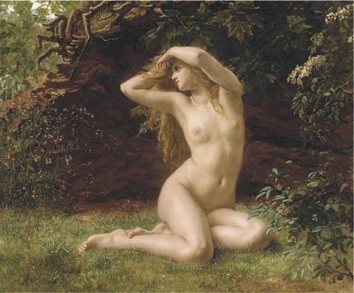 Valentine Cameron Prinsep: The First Awakening of Eve