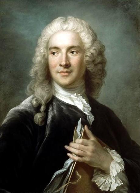 Portrait of Charles-Joseph Natoire by Gustaf Lundberg (1741)