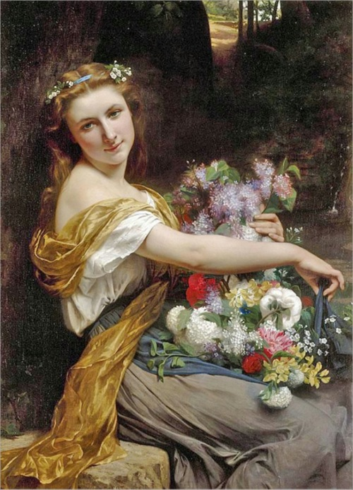 pierre auguste cot  dionysia  1870