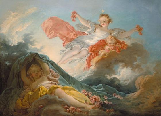 Jean-Honoré Fragonard: Aurora, c. 1755
