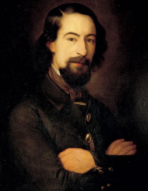 Portrait of José Zorilla y Moral