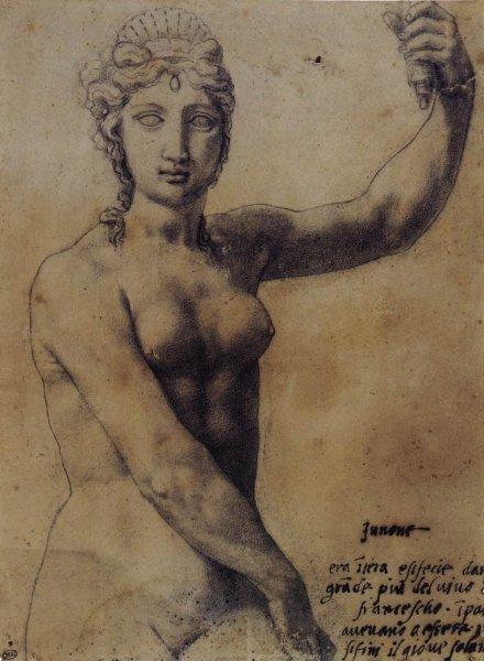 Benvenuto Cellini: Juno (1540)
