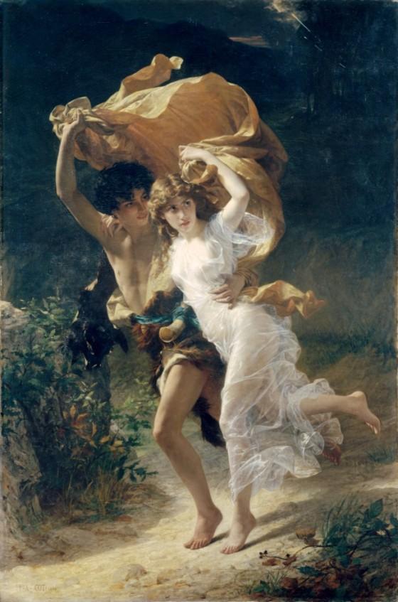 Pierre Auguste Cot: The Storm (1880)