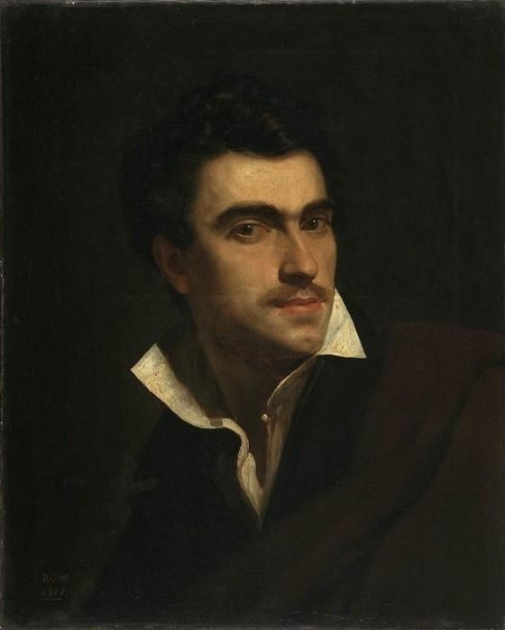 Pierre van Hanselaere: Self-Portrait, 1817