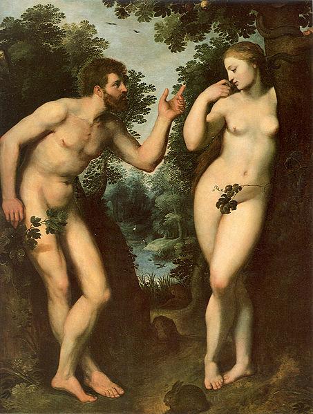 Peter Paul Rubens: Adam and Eve, c. 1597