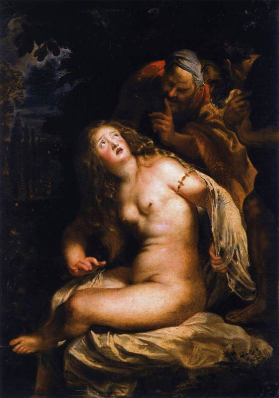 Peter Paul Rubens: Susanna and the Elders, 1607/8