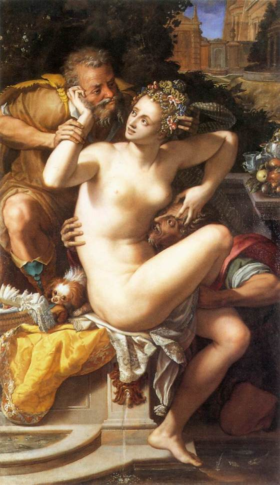 Alessandro Allori: Susanna and the Elders (1561)