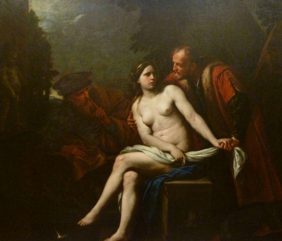 Andrea Vaccaro: Susanna and the Elders