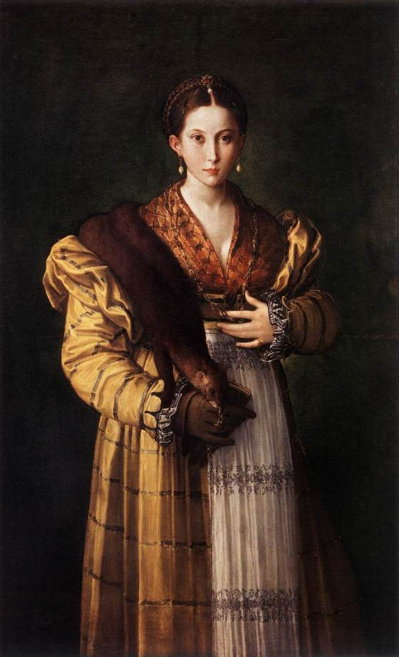 Parmigianino: Portrait of a Young Lady, c. 1535