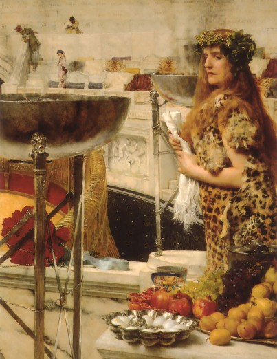 Sir Lawrence Alma-Tadema: Preparation in the Coliseum (1912)