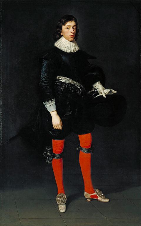 Daniel Mytens the Elder - Portrait of James Hamilton