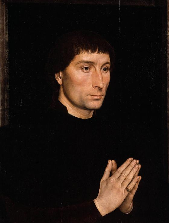 Portrait of Tommaso Portinari by Hans Memling, c. 1470