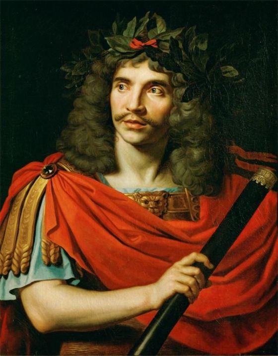 Nicolas Mignard, Moliere as Julius Caesar
