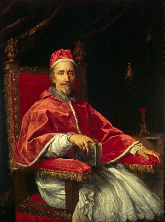 Portrait of Pope Clemens IX by Carlo Maratta