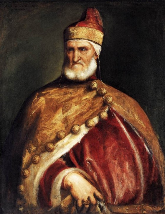 Portrait of the Doge Andrea Gritti by Titian, c. 1546