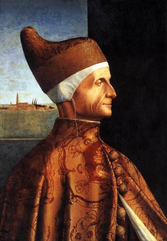 Portrait of the Doge Leonardo Loredan by Vittore Carpaccio, 1501