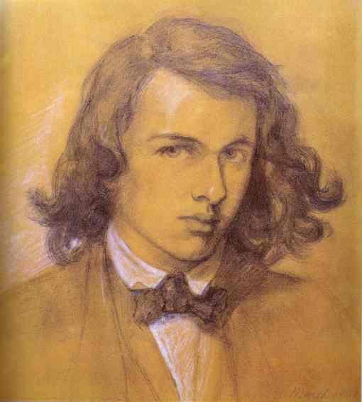 Dante Gabriel Rossetti: Self-Portrait 1847