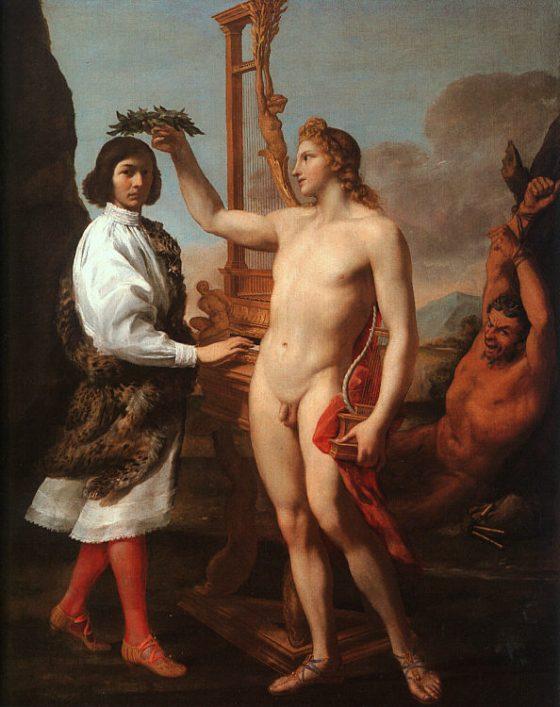 Andrea Sacchi: Marc'Antonio Pasqualini Crowned by Apollo (1641)