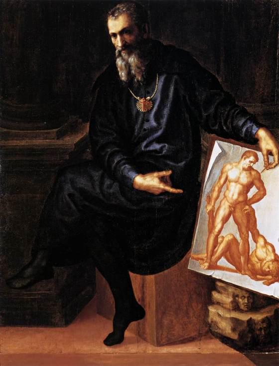 Baccio Bandinelli: Self-Portrait c. 1530