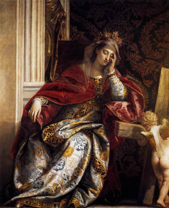 Paolo Veronese: The vision of St. Helena (1580)