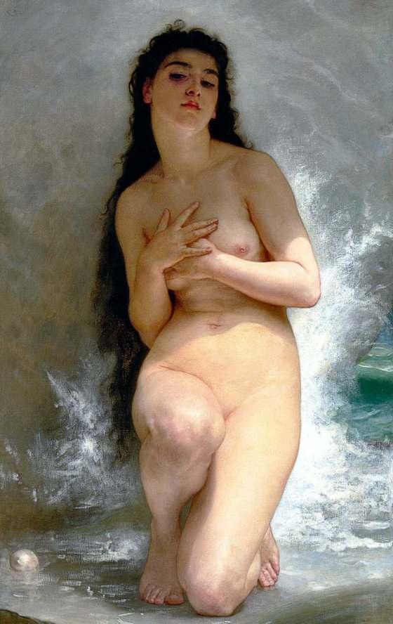 William Bouguereau: La Perle (1894)