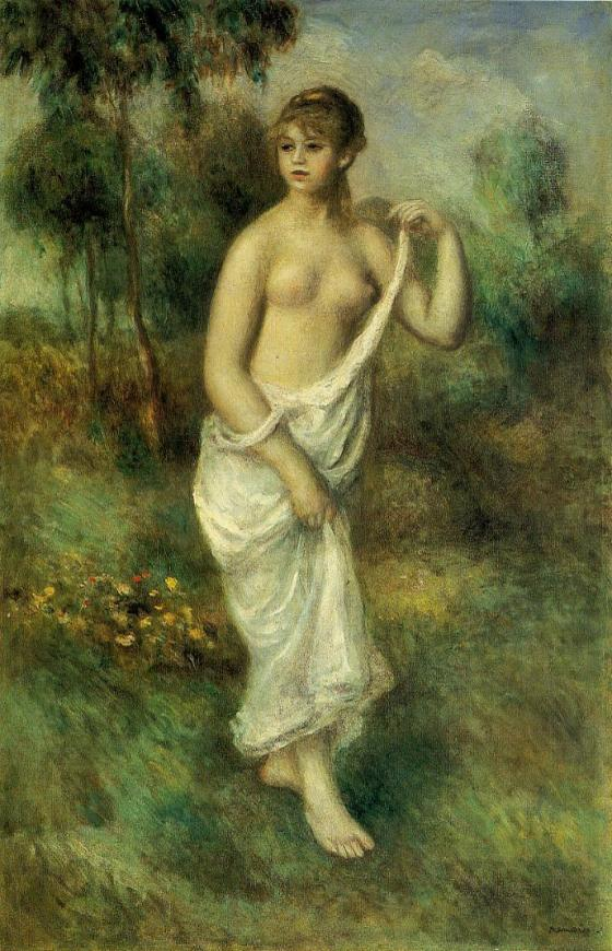 Pierre Auguste Renoir, Baigneuse (1887)