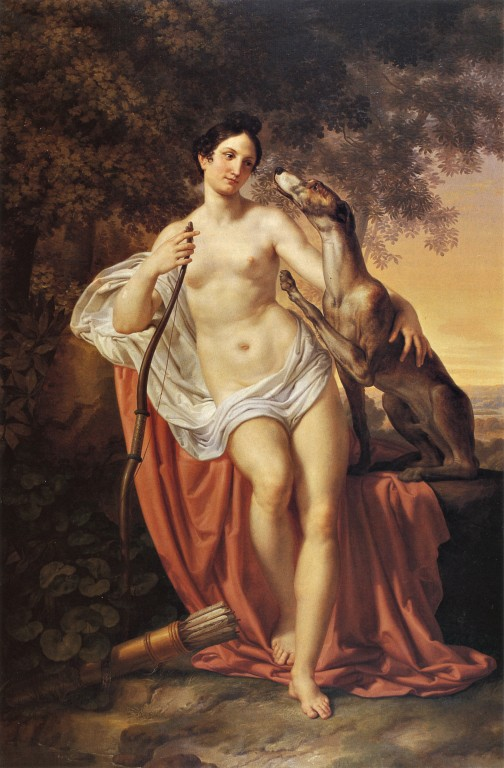 Pelagio Palagi, Diana the Huntress, c. 1828-30