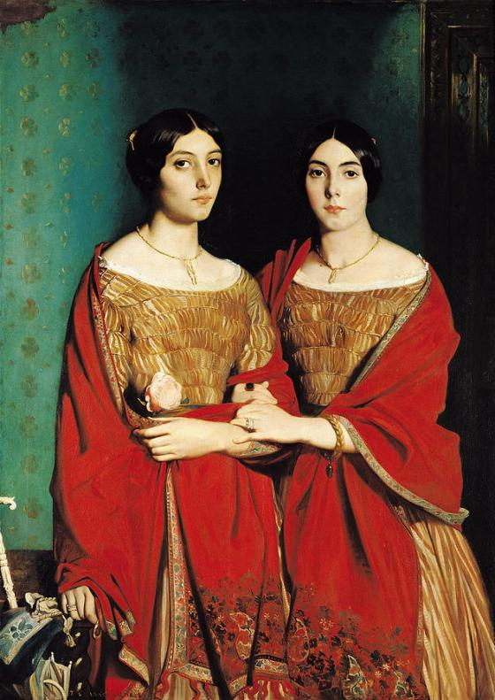 Théodore Chassériau: The Two Sisters, 1843